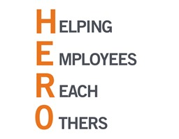 HERO Acronym - Helping Employees Reach Others