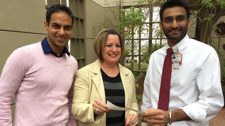 Dr. Parminder Sidhu, Theresa Stinson, Kanwar Singh